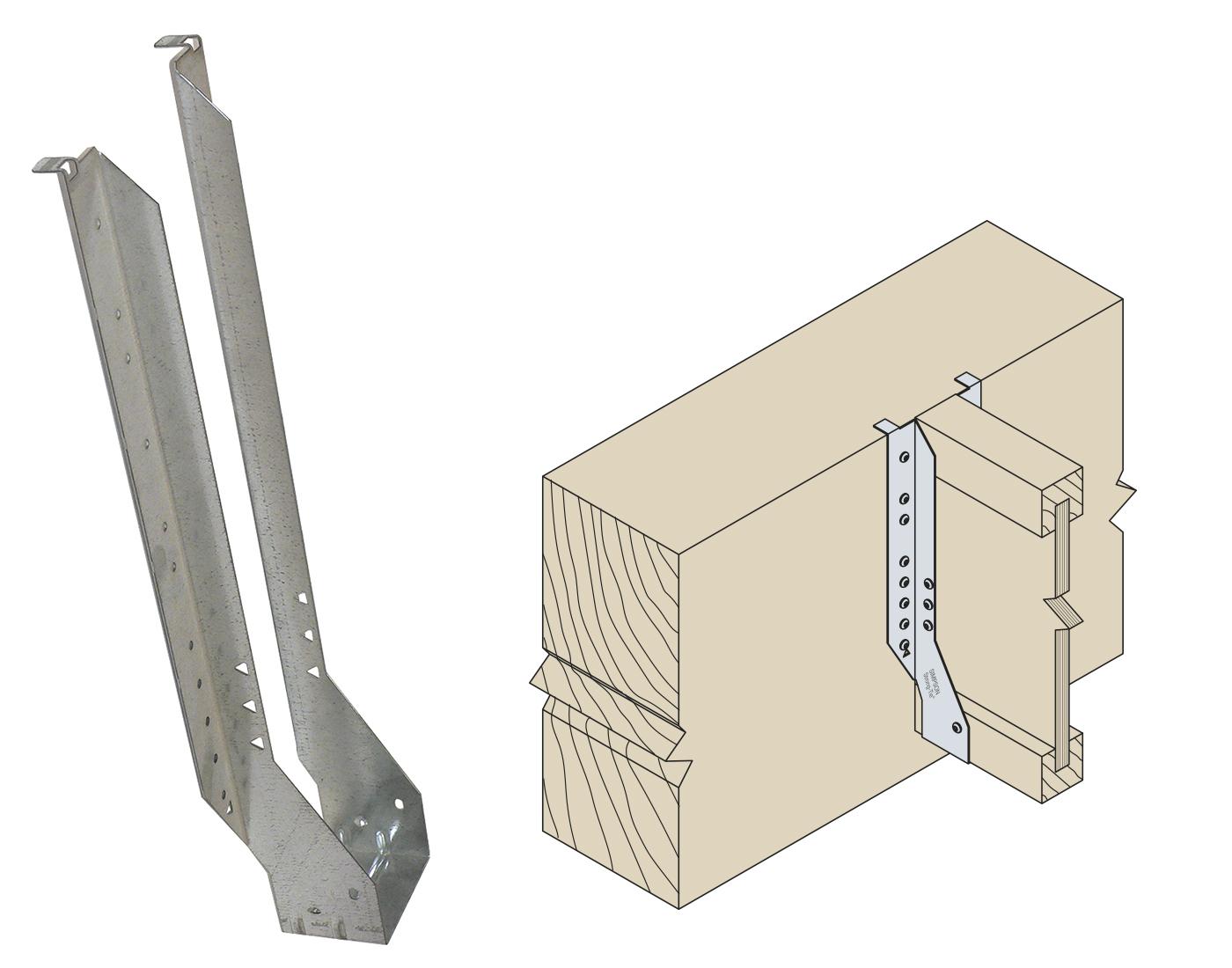 df7f519c4e0d Standard beslag til I-bjælken. SIMPSON STRONG - TIE BJÆLKESKO IUSE199 48